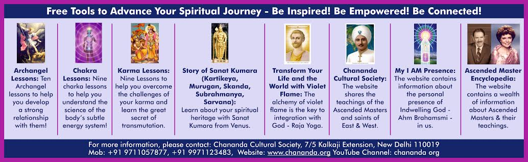 Teachings of The Ascended Masters in India - Chananda